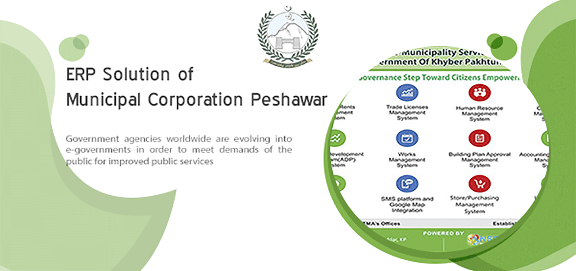 ERP Solution of Municipal Corporation Peshawar
